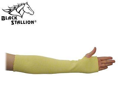 "Black Stallion KK-18T 18"" Double Kevlar Knit Sleeve Thumb Hole Cut Resistant"