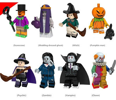 recrow Wedding Ghost Witch Zombie Vampire Clown Horror Toys (Clown Zombie Halloween)