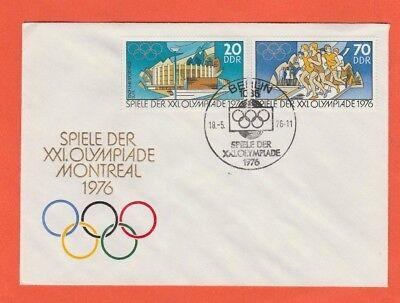 Orig.Ersttagsbrief   Olympische Spiele MONTREAL 1976 - Edition C  !!  SELTEN