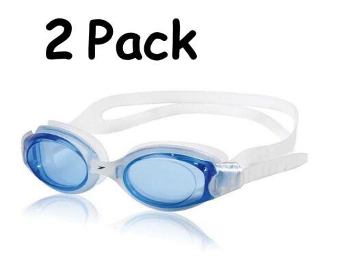 Speedo Hydrosity (SLIM FIT) Swim Goggle - Blue ~(2 pack)~