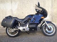 BMW K75TC Touring Motorcycle 1988 long MOT
