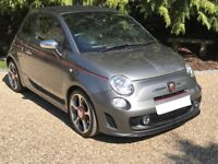 Abarth 500C 1.4 T-Jet. Full leather interior FSH Low Mileage