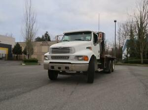 STERLING Acterra Flatbed Truck W/ Caterpillar Diesel Engine