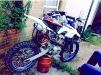 Ghost Pit Bike 250cc kx cr yz rm
