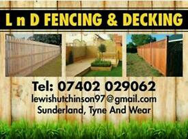 L 'n' D FENCING & DECKING SERVICES