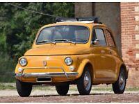 1970 Fiat 500 L – Totally restored !!!