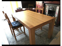Dining table for 6 people