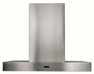 """STAINLESS STEEL RANGE HOOD FAN -30"""" Wall Mounted with Stainless Steel Filters"""