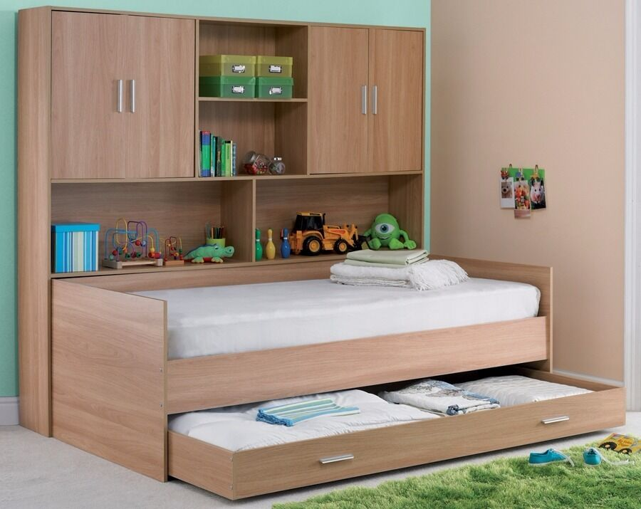 Children 39 S Overbed Storage Unit Storage Bed Single In