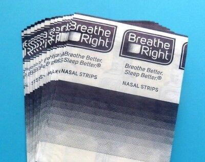 Große Nasen Strips (32 Nasenpflaster Breathe Right groß transparent Nasenstrips II besser atmen)