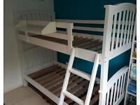 Bunkbed white wood