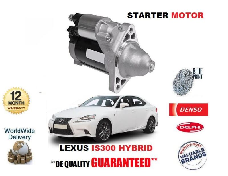 FOR LEXUS IS300 HYBRID 2013-> NEW STARTER MOTOR OE 28100-31071