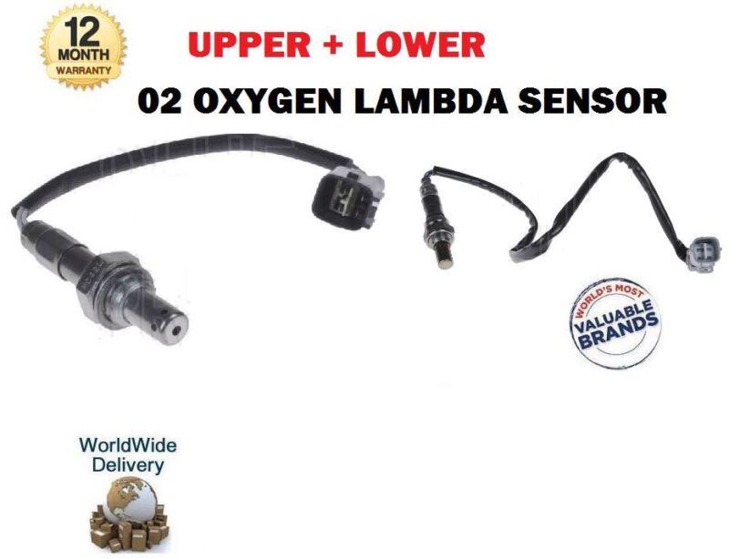 FOR LEXUS TOYOTA 2010-->NEW 02 OXYGEN LAMBDA 2x SENSOR SET 8946548270 8946752060