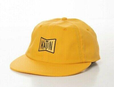 BNWT Katin USA Strapback Cap Yellow Baseball Hat