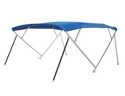 Komo Covers Square Tube Pontoon 4 Bow Boat Bimini Top  97 103 W  Royal Blue