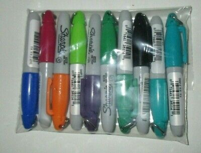 Lot Of 10 Sharpie Mini Permanent Marker Assortment Of Colors