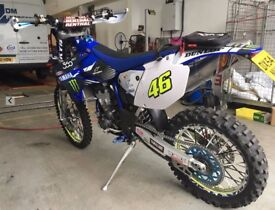 Yamaha WR 450 Road legal