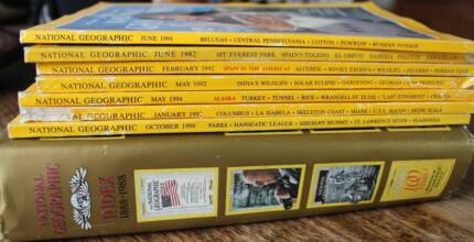 Geographic Magazines and Hard Cover Index 1888 to 1988