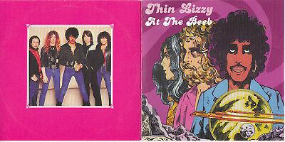 THIN LIZZY At the Beeb Hippodrome London UK 1973 + 1975 CD VG/VG SBD