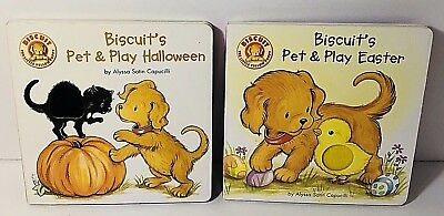 Biscuits Pet & Play Books Halloween Easter (Halloween Biscuits)