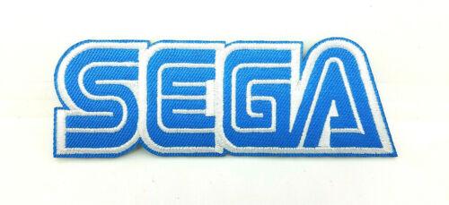 SEGA Logo Patch 4 inches wide