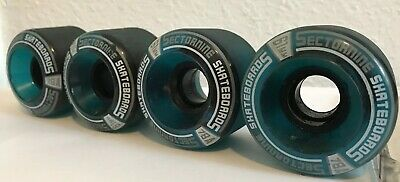 **SECTOR 9 Skateboard Wheels 61mm 78A Print Logo Longboard Cruiser Speed Soft*, usado comprar usado  Enviando para Brazil