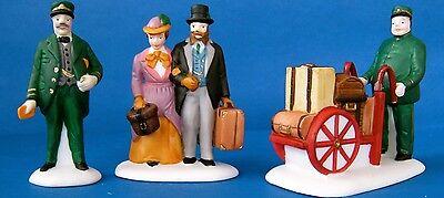 Dept 56- Dickens Village-Holiday Travelers- #55719   -EUC