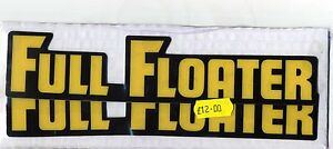 Suzuki Full Floater Swingarm Decals RM 125 250 465 500 1982-1983