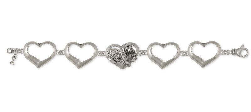 Springer Spaniel Bracelet Jewelry Sterling Silver Handmade Dog Bracelet SS2-BR
