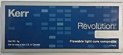 Kerr Original Revolution Formula 2 Flowable Light Cure Composite A2 Exp 92020