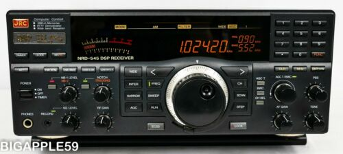 Japan Radio JRC NRD-545 Shortwave Radio AM SSB CW Receiver ***DSP MACHINE***