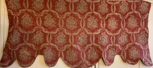 Beautiful Late 18th Early 19th Cent Linen French Hand Black Printed Fabric 2902