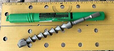 New Hitachi Koki 1-12 X 11 X 16 Spline Shank 2 Cutter Hammer Drill Bit 985376