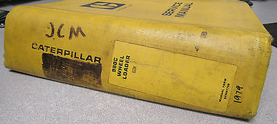 Caterpillar Cat 980c Wheel Loader Service Manual Senr7750 63x 1979