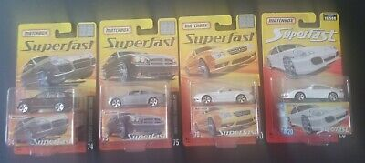 MATCHBOX SUPERFAST 2005 - 1 OF 8,000 #70, #74, # 75 and #20 1 of 15,00
