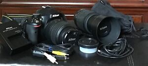 Nikon D5100 & Nikon 55-200mm Zoom lens - Best Deal