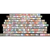 100 Pieces - PCS, of Different World MIX Foreign Banknotes,Currency,Uncirculated