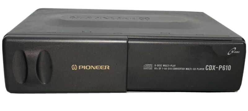 Pioneer CDX-P610 6 Disc Car Multi Play CD Changer IP-BUS Unit with Magazine