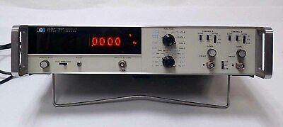 Hp Agilent 5326a Timercounterdvm Nixie Display 0-50mhz Dual Channel Input Op1