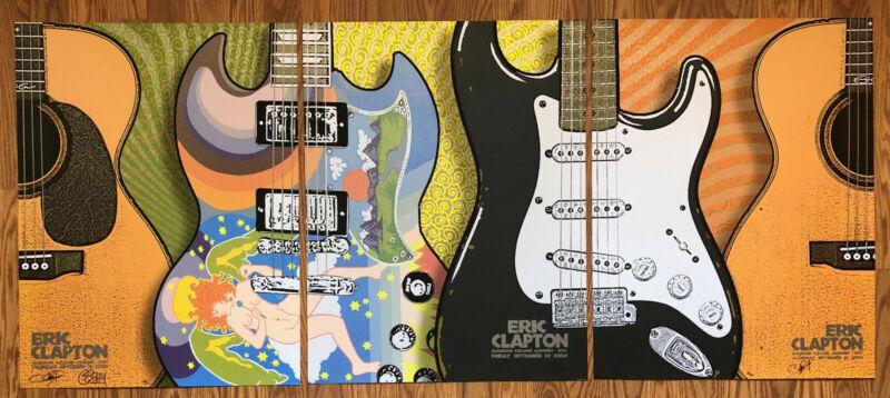 Eric Clapton RARE MSG 3 Piece Set 2003