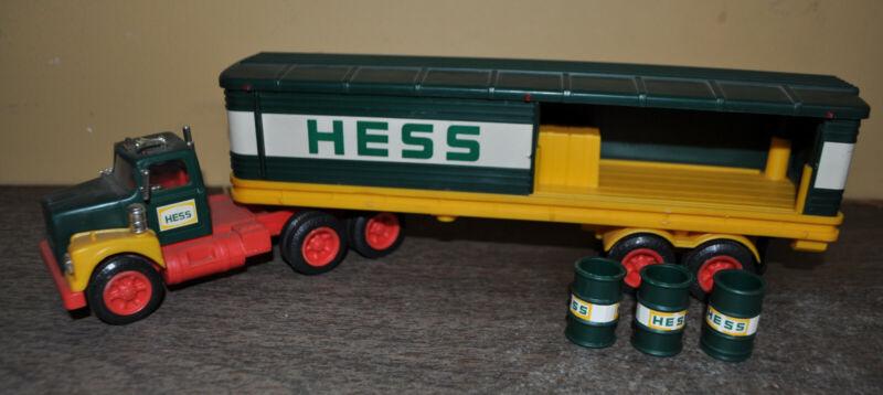 VINTAGE 1975 Hess Truck 3 Barrels