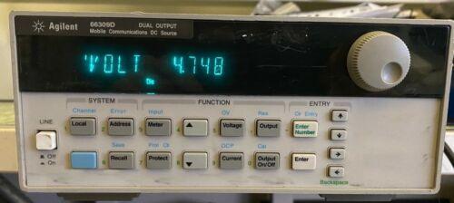 Agilent 66309D mobile communication DC source power supply