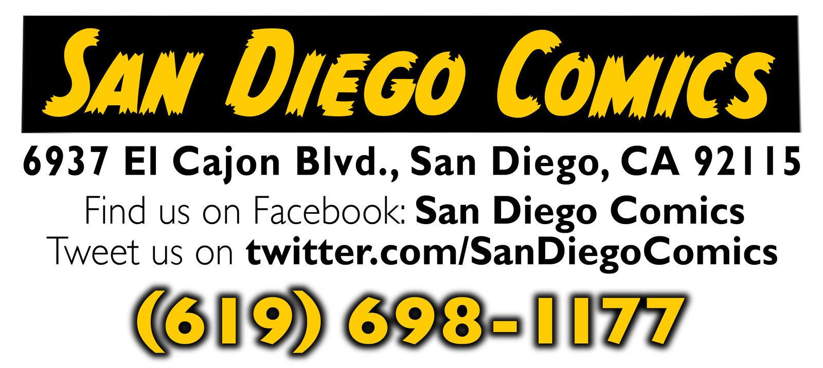 San Diego Comics