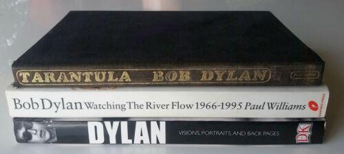 Bob Dylan Tarantula First Printing -- Dylan Collection -- Three Books