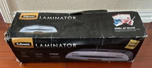 """New Fellowes 5727001 Thermal Cold Laminator, 9-1/2""""W, 2 Temps, Silver"""