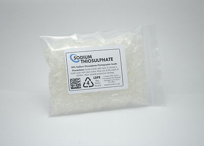 Sodium Thiosulphate 100g - 99% Pure Crystals Aquarium Dechlorinator High Grade