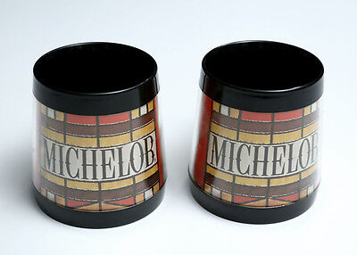 Lot of 2 Michelob Beer Vintage Retro Thermo-Serv Mugs