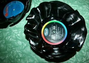 Take those old records off the shelf.. Handmade Record Bowls! Kitchener / Waterloo Kitchener Area image 1