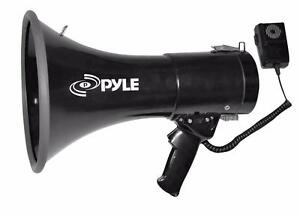 PylePro PMP53IN 50 Watts Professional Piezo Dynamic Megaphone with 3.5mm Aux-Input For Digital Music / iPhone