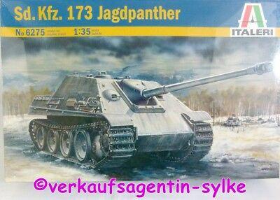 400: Italeri Modellbausatz Sd.Kfz.173 JAGDPANZER, Modellbau-Panzer 1:35, Neu